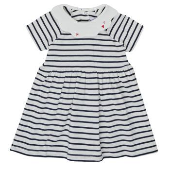 Kleidung Mädchen Kurze Kleider Petit Bateau MEGHANE Multicolor