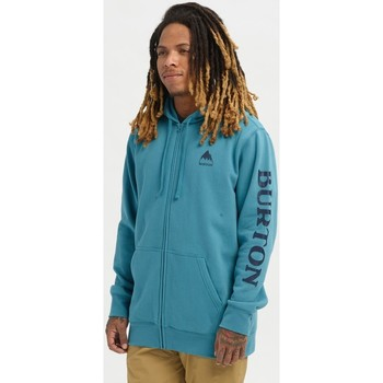 Kleidung Herren Sweatshirts Burton Men's Elite Full Zip Hoodie Storm Blue