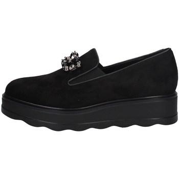 Schuhe Damen Slip on Comart 743625 SCHWARZ