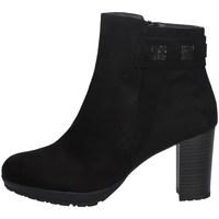 Schuhe Damen Low Boots Comart 363687 SCHWARZ