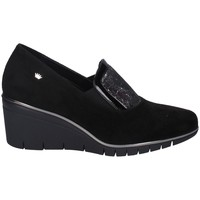 Schuhe Damen Slipper Comart 173758 SCHWARZ