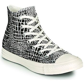 Schuhe Damen Sneaker High Converse CHUCK TAYLOR ALL STAR DIGITAL DAZE HI Schwarz / Beige