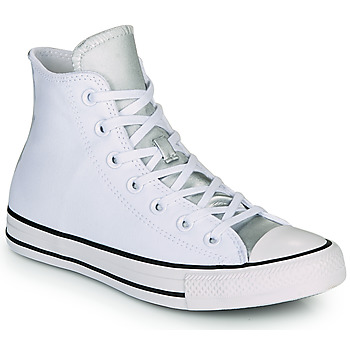 Schuhe Damen Sneaker High Converse CHUCK TAYLOR ALL STAR ANODIZED METALS HI Weiss