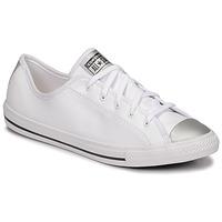 Schuhe Damen Sneaker Low Converse CHUCK TAYLOR ALL STAR DAINTY ANODIZED METALS OX Weiss