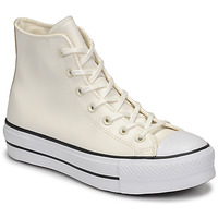 Schuhe Damen Sneaker High Converse CHUCK TAYLOR ALL STAR LIFT ANODIZED METALS HI Weiss / Beige