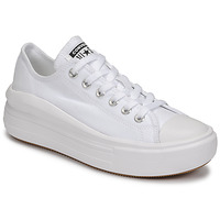 Schuhe Damen Sneaker Low Converse CHUCK TAYLOR ALL STAR MOVE CANVAS COLOR OX Weiss