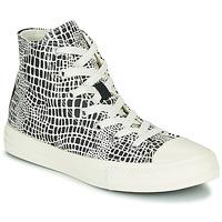 Schuhe Mädchen Sneaker High Converse CHUCK TAYLOR ALL STAR DIGITAL DAZE HI Schwarz / Weiss