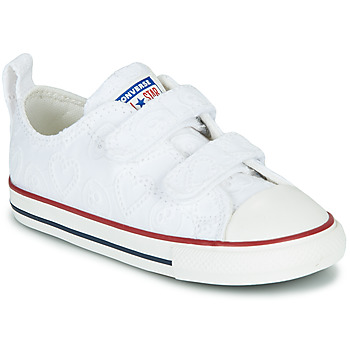 Schuhe Mädchen Sneaker Low Converse CHUCK TAYLOR ALL STAR 2V LOVE CEREMONY OX Weiss