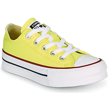 Schuhe Mädchen Sneaker Low Converse CHUCK TAYLOR ALL STAR LIFT CANVAS COLOR OX Gelb
