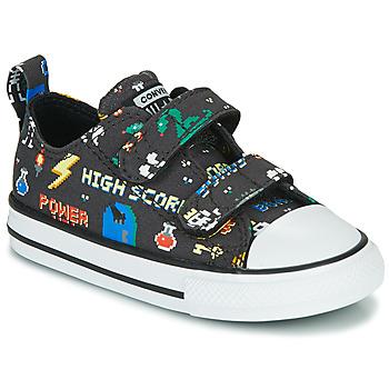 Schuhe Jungen Sneaker Low Converse CHUCK TAYLOR ALL STAR 2V BOYS GAMER OX Schwarz / Multifarben