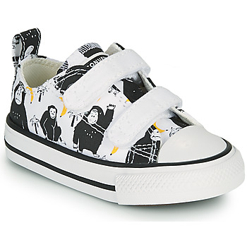 Schuhe Kinder Sneaker Low Converse CHUCK TAYLOR ALL STAR 2V GOING BANANAS OX Weiss / Multicolor