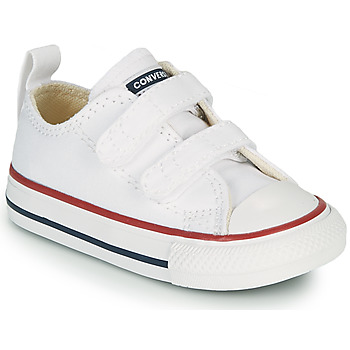 Schuhe Kinder Sneaker Low Converse CHUCK TAYLOR ALL STAR 2V FOUNDATION OX Weiss