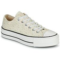 Schuhe Damen Sneaker Low Converse CHUCK TAYLOR ALL STAR LIFT CANVAS BRODERIE OX Weiss