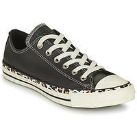 Schuhe Damen Sneaker Low Converse CHUCK TAYLOR ALL STAR ARCHIVE DETAILS OX Schwarz / Leopard