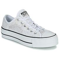 Schuhe Damen Sneaker Low Converse CHUCK TAYLOR ALL STAR LIFT BREATHABLE OX Weiss