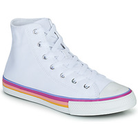 Schuhe Kinder Sneaker High Converse CHUCK TAYLOR ALL STAR MULTI COLOR MIDSOLE HI Weiss