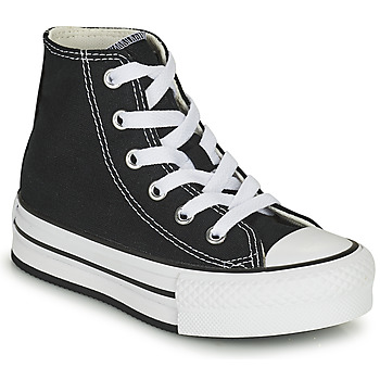 Schuhe Mädchen Sneaker High Converse CHUCK TAYLOR ALL STAR EVA LIFT CANVAS COLOR HI Schwarz