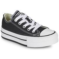 Schuhe Mädchen Sneaker Low Converse CHUCK TAYLOR ALL STAR EVA PLATFORM FOUNDATION OX Schwarz