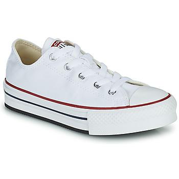 Schuhe Mädchen Sneaker Low Converse CHUCK TAYLOR ALL STAR EVA PLATFORM FOUNDATION OX Weiss