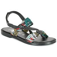 Schuhe Damen Sandalen / Sandaletten Kaporal EVALOU Schwarz / Multicolor