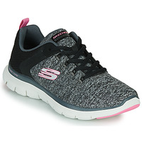 Schuhe Damen Fitness / Training Skechers FLEX APPEAL 4.0 Grau / Rose