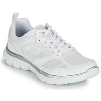 Schuhe Damen Fitness / Training Skechers FLEX APPEAL 4.0 Weiss
