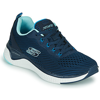 Schuhe Damen Fitness / Training Skechers SOLAR FUSE COSMIC VIEW Marine