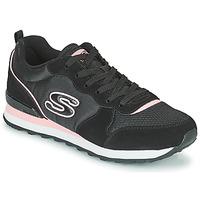 Schuhe Damen Sneaker Low Skechers OG 85 Schwarz / Rose