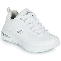 Schuhe Damen Sneaker Low Skechers ARCH FIT Weiss