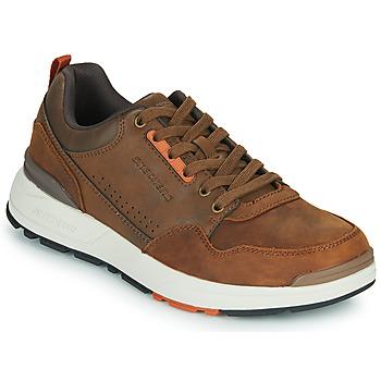 Schuhe Herren Sneaker Low Skechers FAIRLINE Braun