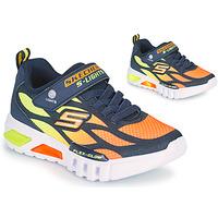 Schuhe Jungen Sneaker Low Skechers FLEX-GLOW Marine / Orange