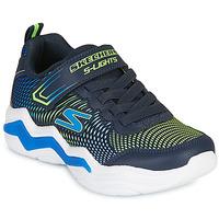 Schuhe Jungen Sneaker Low Skechers ERUPTERS IV Marine / Grün