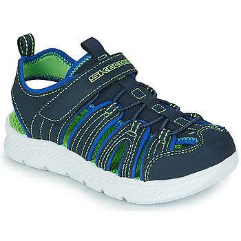 Schuhe Jungen Sportliche Sandalen Skechers C-FLEX SANDAL 2.0 Marine / Grün