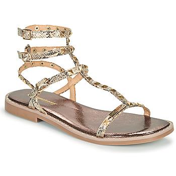 Schuhe Damen Sandalen / Sandaletten Les Tropéziennes par M Belarbi COROL Beige