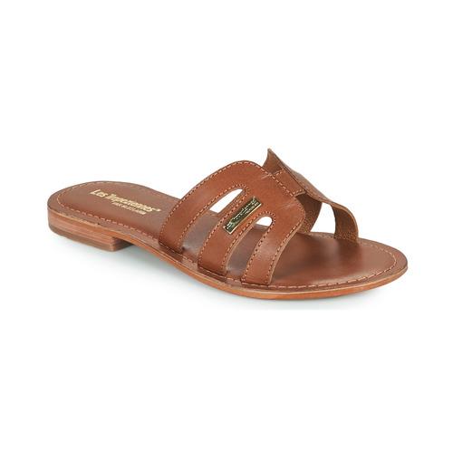 Schuhe Damen Pantoffel Les Tropéziennes par M Belarbi DAMIA Braun