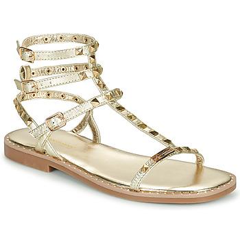 Schuhe Damen Sandalen / Sandaletten Les Tropéziennes par M Belarbi CORALIE Gold