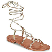 Schuhe Damen Sandalen / Sandaletten Les Tropéziennes par M Belarbi HELLEN Gold