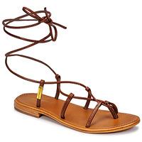 Schuhe Damen Sandalen / Sandaletten Les Tropéziennes par M Belarbi HELLEN Braun
