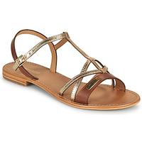 Schuhe Damen Sandalen / Sandaletten Les Tropéziennes par M Belarbi HIRONELA Silbern