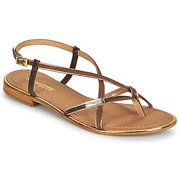 Schuhe Damen Sandalen / Sandaletten Les Tropéziennes par M Belarbi MONAGOLD Braun
