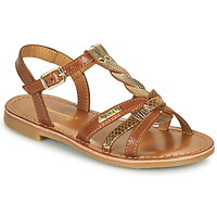Schuhe Mädchen Sandalen / Sandaletten Les Tropéziennes par M Belarbi BADAMI Camel / Goldfarben