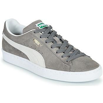 Schuhe Sneaker Low Puma SUEDE Grau