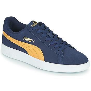 Schuhe Herren Sneaker Low Puma SMASH Blau / Beige