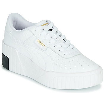 Schuhe Damen Sneaker Low Puma CALI WEDGE Weiss / Schwarz
