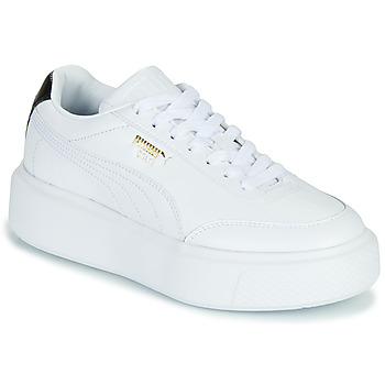 Schuhe Damen Sneaker Low Puma CALI OSLO Weiss / Schwarz