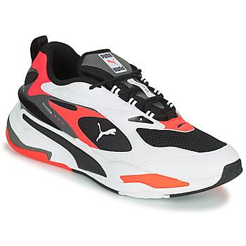 Schuhe Herren Sneaker Low Puma RS FAST Weiss / Schwarz / Rot