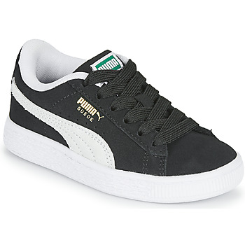 Schuhe Kinder Sneaker Low Puma SUEDE PS Schwarz