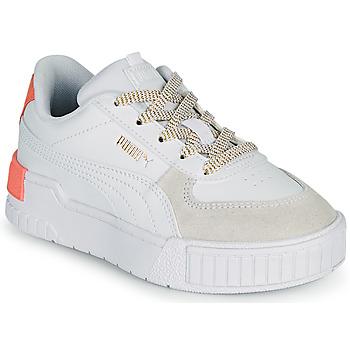 Schuhe Mädchen Sneaker Low Puma CALI SPORT PS Weiss / Rose