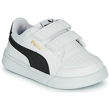 Schuhe Kinder Sneaker Low Puma SHUFFLE INF Weiss / Schwarz
