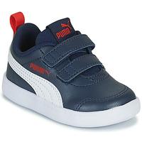 Schuhe Kinder Sneaker Low Puma COURTFLEX INF Schwarz